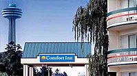 Comfort Inn Niagara Falls AAA-CAA 3 Diamond, 1 Block to the Falls and Major attractions, Free all-you-can-eat Continental Breakfast, Free Parking, Kids Stay Free, Indoor Pool and Whirlpool.